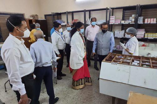 तामिळनाडूच्या धर्तीवर महाराष्ट्रात औषध खरेदी महामंडळ उभारणार <br>आरोग्य मंत्री राजेश टोपे यांची घोषणा